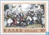 Postage Stamps - Greece - Fight Suliat