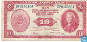 Dutch East Indies 10 Gulden