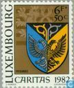 Postage Stamps - Luxembourg - Municipality Weapons