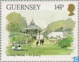 Postage Stamps - Guernsey - Museums