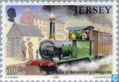 Postage Stamps - Jersey - Railways
