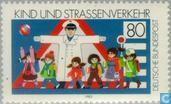 Postage Stamps - Germany, Federal Republic [DEU] - Child and road