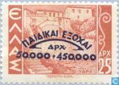 Postzegels - Griekenland - Voor het Kind