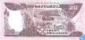 Banknotes - Central Bank of Swaziland - Swaziland 20 Emalangeni