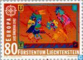 Postage Stamps - Liechtenstein - Europe – Discovery of America
