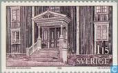 Timbres-poste - Suède [SWE] - 115 marron / violet