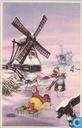 Ansichtkaarten - Bommel en Tom Poes - Nieuwjaarskaart Bommel en Tom Poes