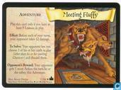 Trading cards - Harry Potter 4) Adventures at Hogwarts - Meeting Fluffy - Promo Foil