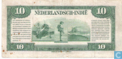 Banknotes - Currency note Nederlandsch-Indië - Dutch East Indies 10 Gulden
