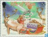 Postage Stamps - Man - Santa