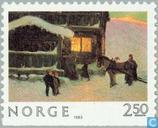 Postzegels - Noorwegen - Kerstmis