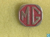 Pins and buttons - MG Car Company - MG [red]