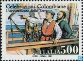 Timbres-poste - Italie [ITA] - Découverte de l'Amérique