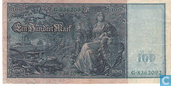 Banknotes - Reichsbanknote - Germany 100 Mark