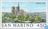 Timbres-poste - Saint-Marin - de renommée mondiale-Paris