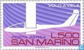 Postage Stamps - San Marino - Gliding