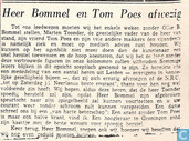 Comic Books - Bumble and Tom Puss - Heer Bommel en Tom Poes afwezig