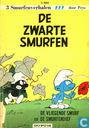 Comic Books - Smurfs, The - De zwarte Smurfen + De vliegende Smurf + De Smurfendief