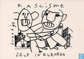 "S000085 - Herman Brood ""Rascisme zelf inkleuren"""