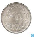 Monnaies - Roumanie - Roumanie 25000 lei 1946