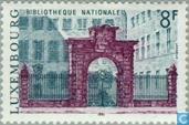 Briefmarken - Luxemburg - Gebäude