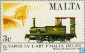 Postzegels - Malta - Treintraject
