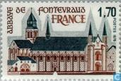 Postage Stamps - France [FRA] - Abbey of Fontevraud