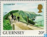 Postage Stamps - Guernsey - Buildings and landscapes