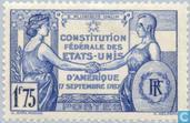 Postage Stamps - France [FRA] - 150 years of US Constitution