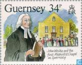 Timbres-poste - Guernesey - Wesley, John