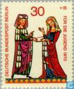 Postage Stamps - Berlin - Minnesinger