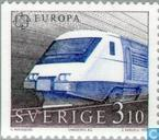 Timbres-poste - Suède [SWE] - Europe – Transports et communications