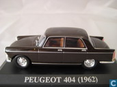 Model cars - Altaya - Peugeot 404 Marron