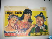 Affiches et posters - Film - Dansmeesters