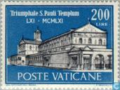 St. Paul's arrivée à Rome