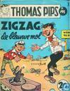 Comics - Thomas Pips - Zigzag de blauwe mol