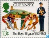 Postage Stamps - Guernsey - Boy's Brigade 1883-1983