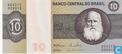 Banknotes - Banco Central do Brasil - Brazil 10 cruzeiros