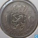 Coins - the Netherlands - Netherlands 1 gulden 1957