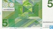 Banknotes - Erflaters II - Netherlands 5 Gulden 1973