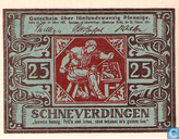 Billets de banque - Schneverdingen - Sparkasse - Pfennig Schneverdingen 25