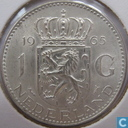 Coins - the Netherlands - Netherlands 1 gulden 1965