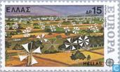 Postage Stamps - Greece - Europe – Landscapes