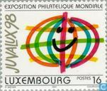 Briefmarken - Luxemburg - Int. Briefmarkenausstellung JUVALUX