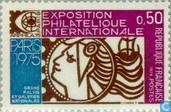 Postage Stamps - France [FRA] - Stamp Exhibition Arphila '75