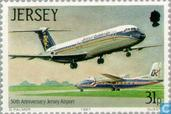 Timbres-poste - Jersey - Aéroport