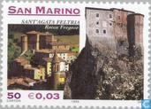 Postage Stamps - San Marino - Fortresses
