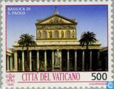 Timbres-poste - Vatican - Monuments