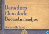 Bensdorp chocolade boomstammetjes
