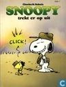Snoopy trekt er op uit